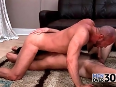 Gay bear 69 sucking just about wet rimjobs