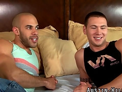 Make consistent and fucked Austin Wilde gets cum sprayed in hi def