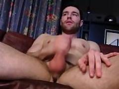 Pretty Straight Guy Tommy Masturbating