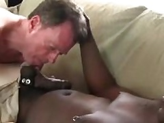 Dameon Sadi contents Rick Jagger ass with his big black horseshit