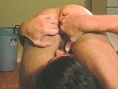 Loved stud relishes a surprise anal drilling in dramatize expunge locker room